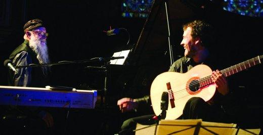 The Rileys: Gyan & Terry Riley zaterdag in Vooruit