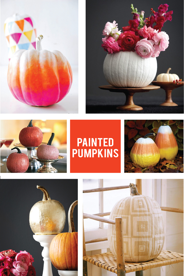 painted pumpkin ideas (via Holly Would)