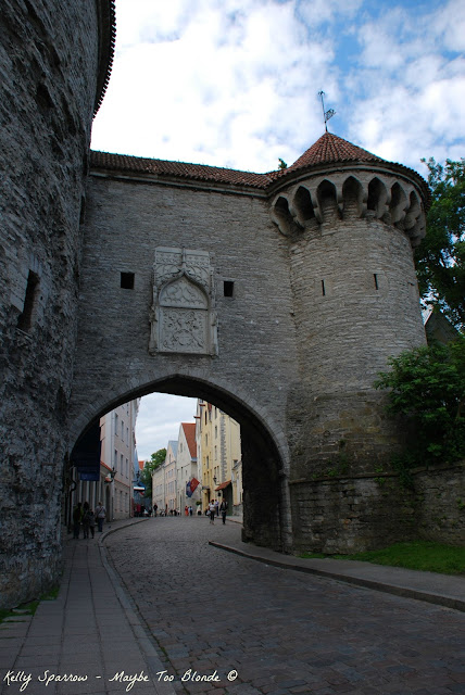 Tallinn Old City Walls, Estonia