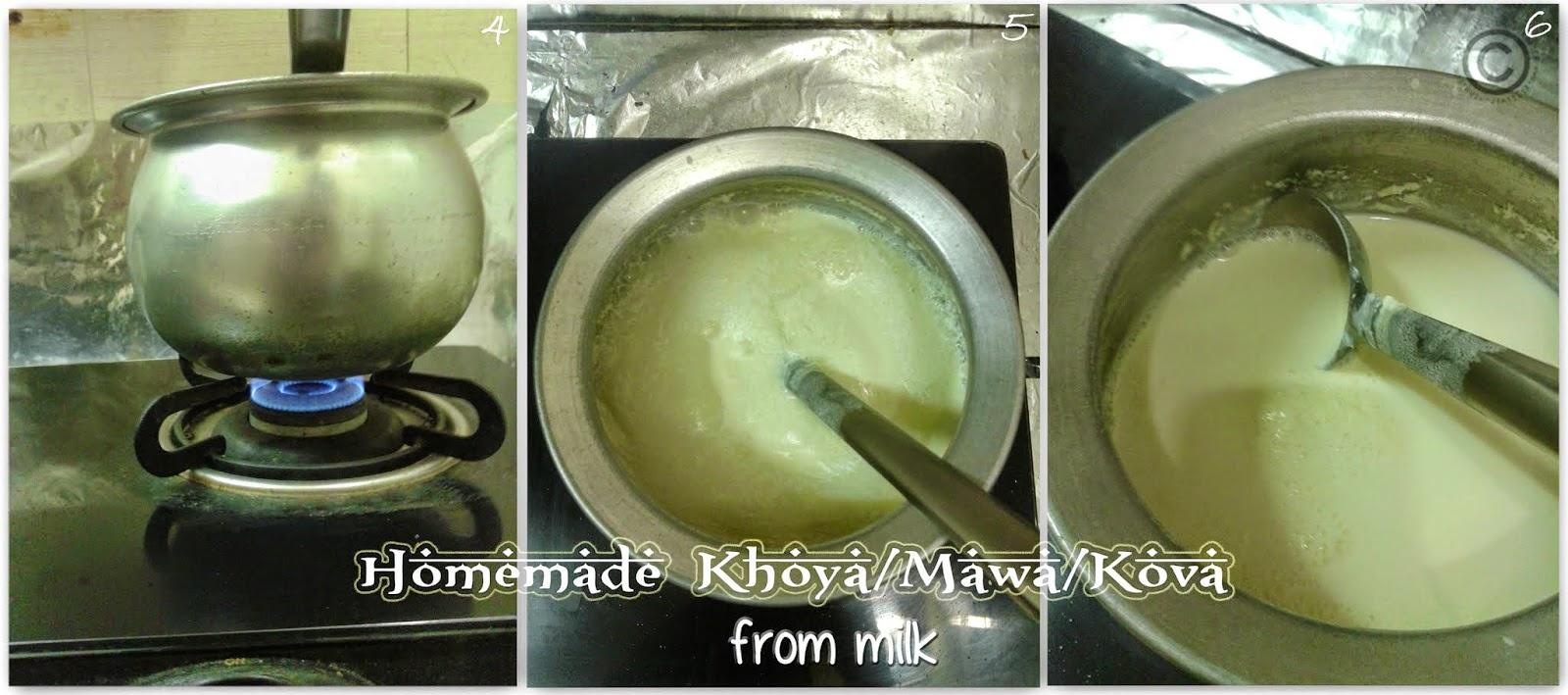 how-to-make-khoya-at-home