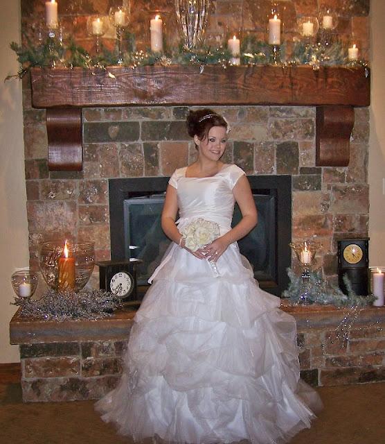 wedding, winter wedding, modest wedding dress,