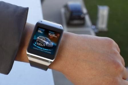 Galaxy Gear terintegrasi dengan BMW i3