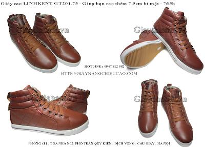 Giày nam đẹp GT201. 75