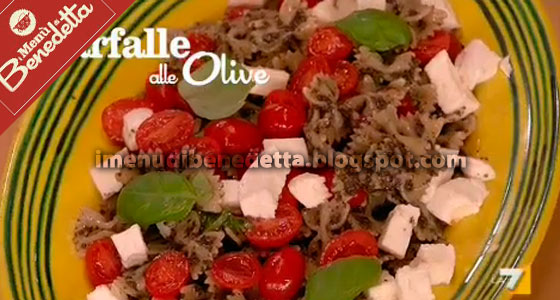 Farfalle alle olive la ricetta di benedetta parodi for Mozzarella in carrozza parodi