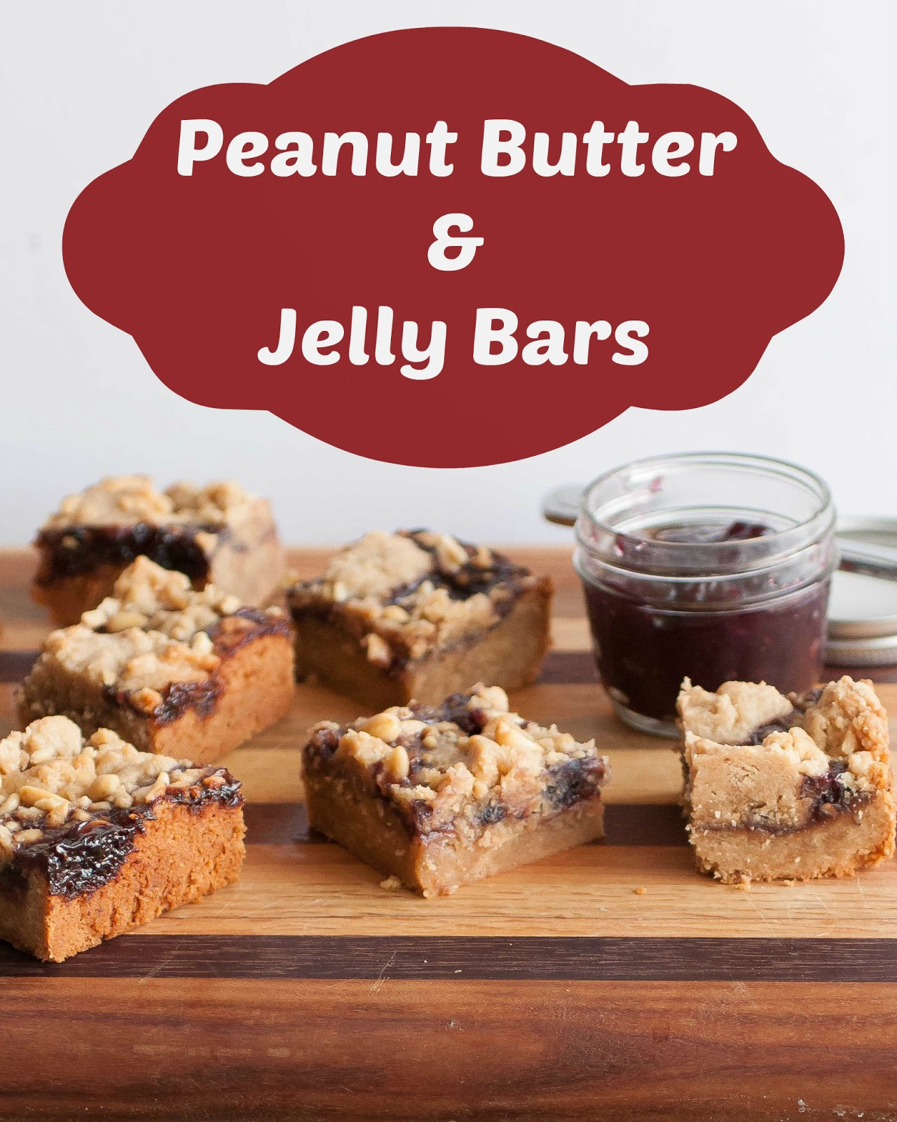 of Blogging: Peanut Butter and Jelly Bars & a Virtual Baby Shower