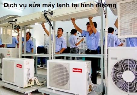 Dịch vụ sửa chữa máy lạnh tại bình dương