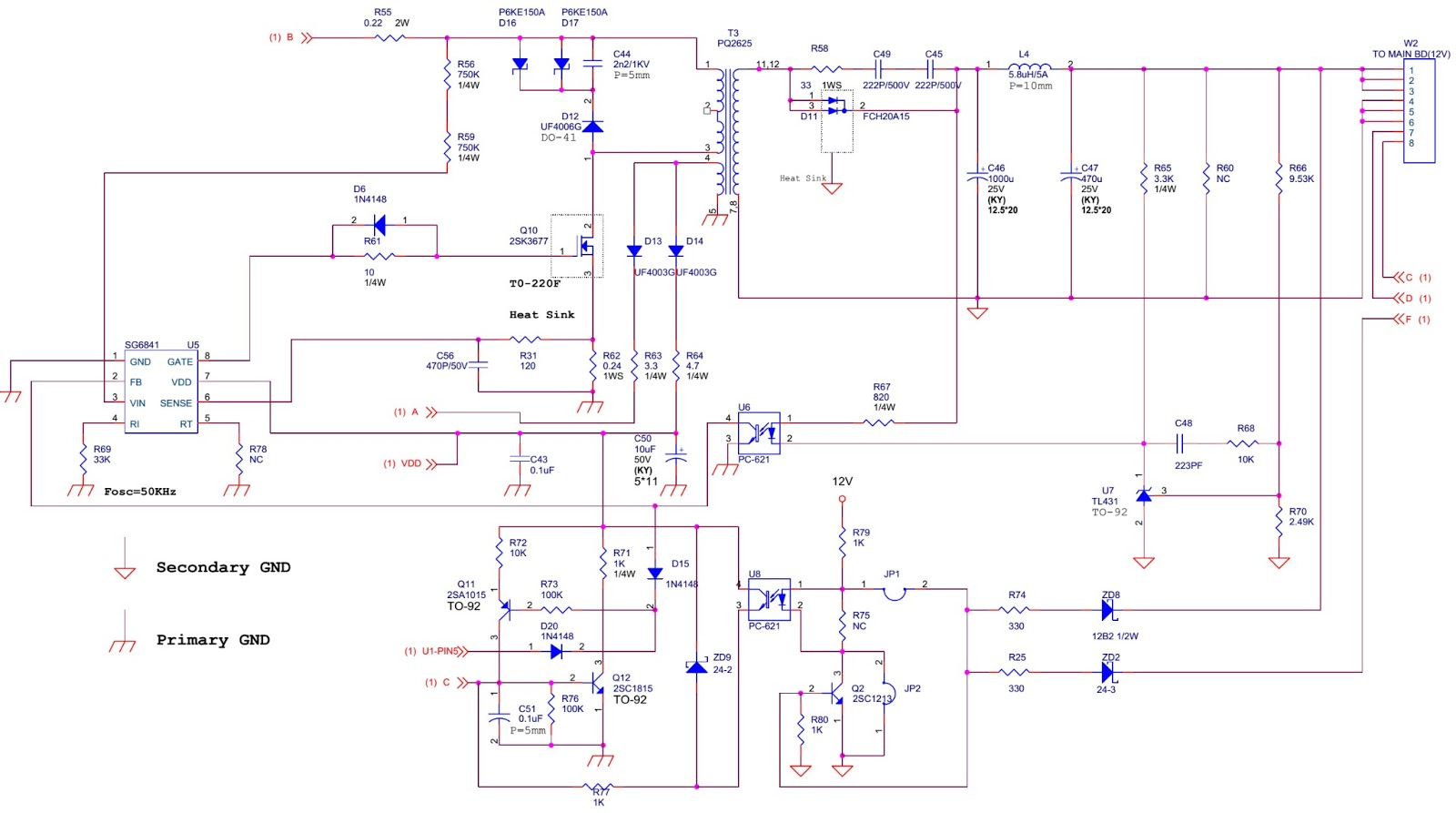 vizio l30wgu 30 lcd tv main power schematic circuit diagram rh electronicshelponline blogspot com visio wiring diagram stencil Direct TV Wiring Diagram