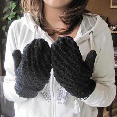 rękawiczki z jednym palcem diy