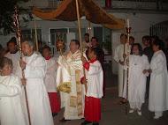 Prosecion del jueves Santo,Padre Oscar