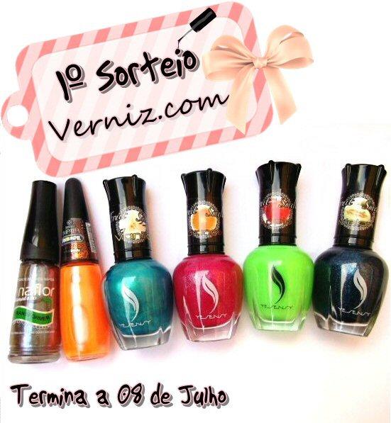 Verniz.com - 1º Sorteio