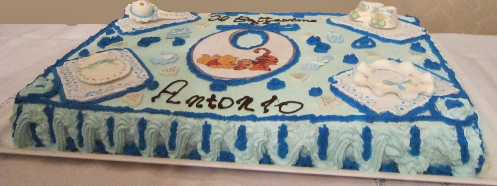 Exceptionnel Torta per il battesimo di mio nipote | Enzo in cucina XN41
