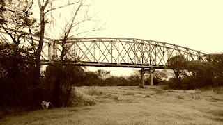 Ponte de Cacequi sobre a Praia de Dourados
