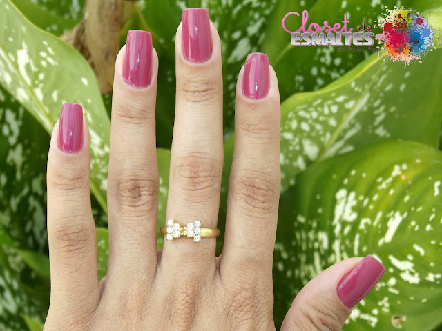 Esmalte: Rosa Floral - Colorama