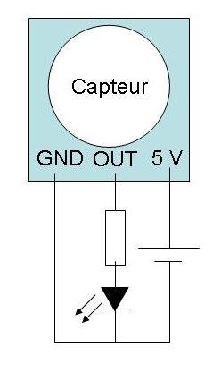 Detecteur infrarouge arduino
