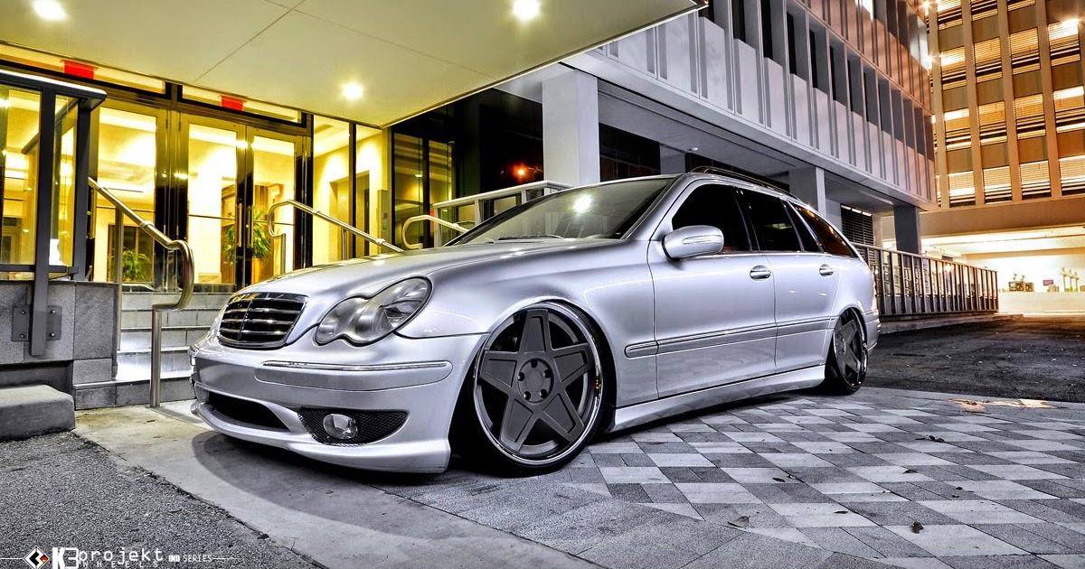 Mercedes Benz S203 Wagon On K3projekt 5sg Wheels Benztuning