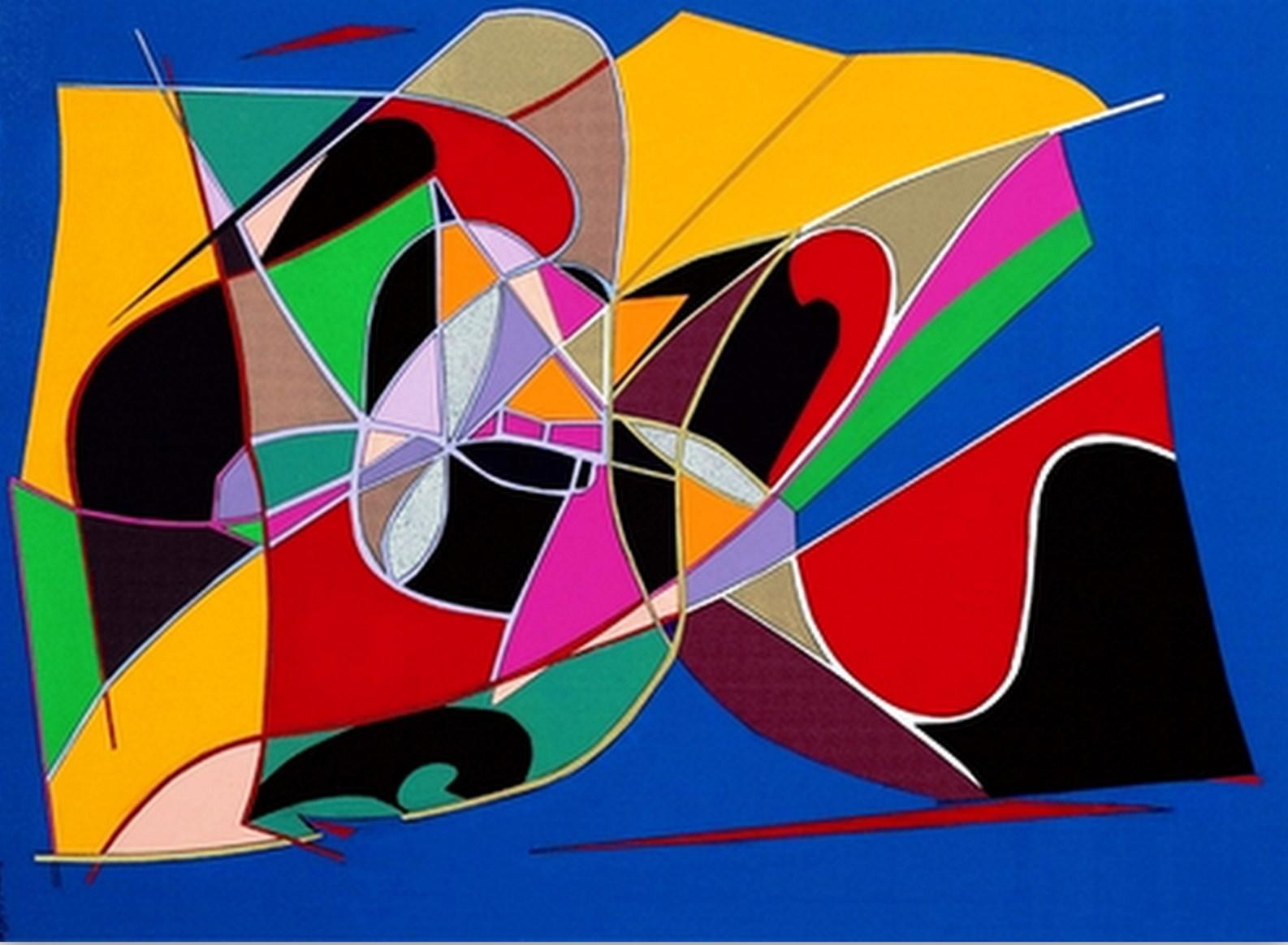 Cuadros pinturas oleos pinturas de colores vivos - Pintura de colores ...