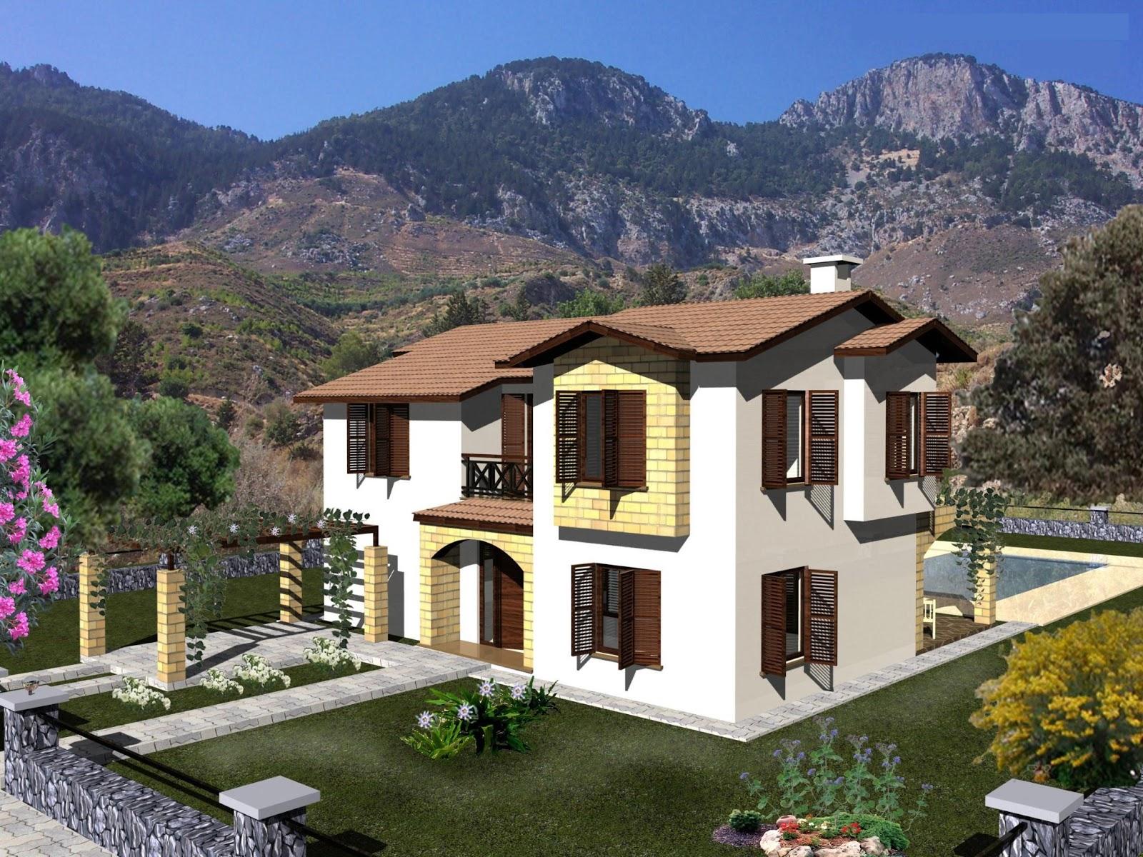 Modern house plans cyprus