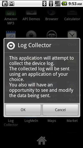 Log Collector for Android Apps