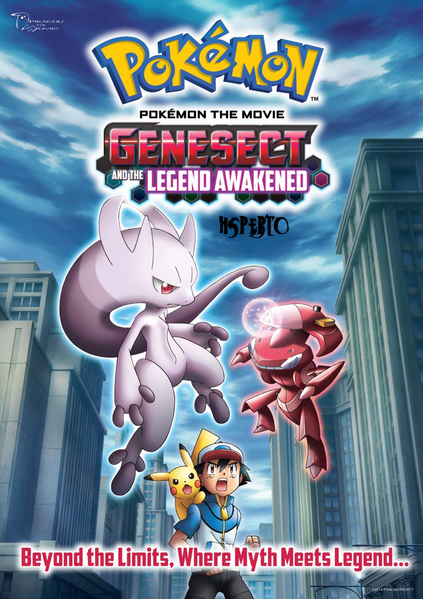 Pokémon O Filme: Genesect e a Lenda Despertada Torrent Dublado BluRay 720p
