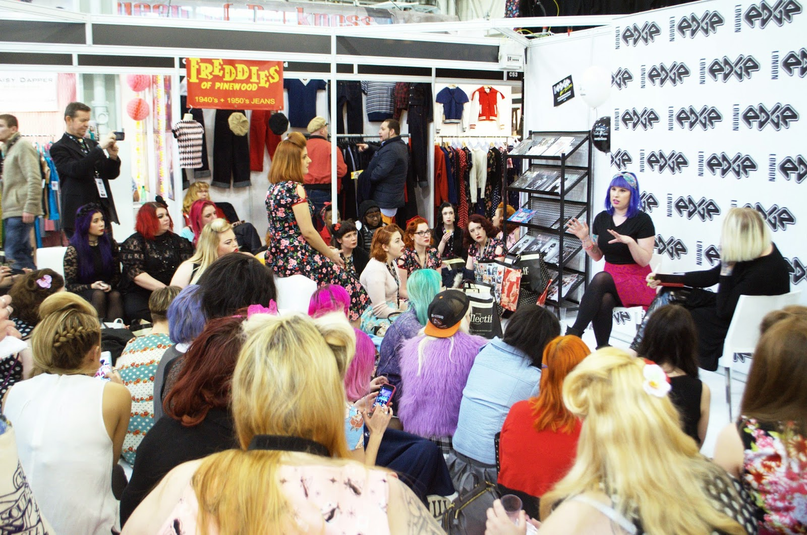 London Edge 2015 Blogger Meet Up
