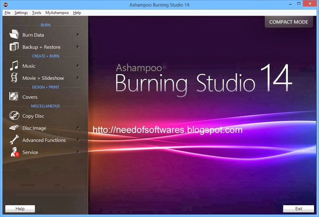 ashampoo burning studio 16 licence key free download