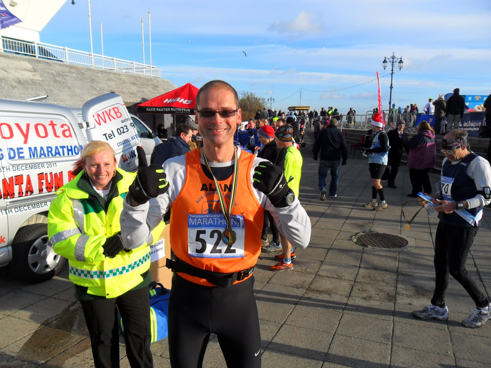 Portsmouth marathon photos 2011