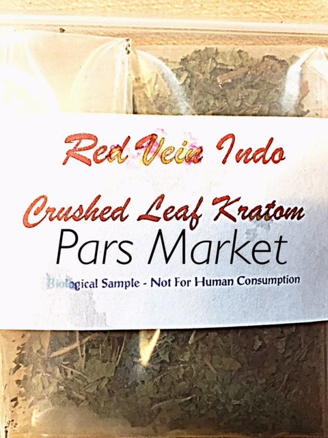 Crushed Leaf Red Vein Indo Kratom at Pars Market in Howard County columbia Maryland 21045