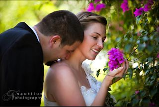 Love is blooming... (Photo by Nautilus Photography)