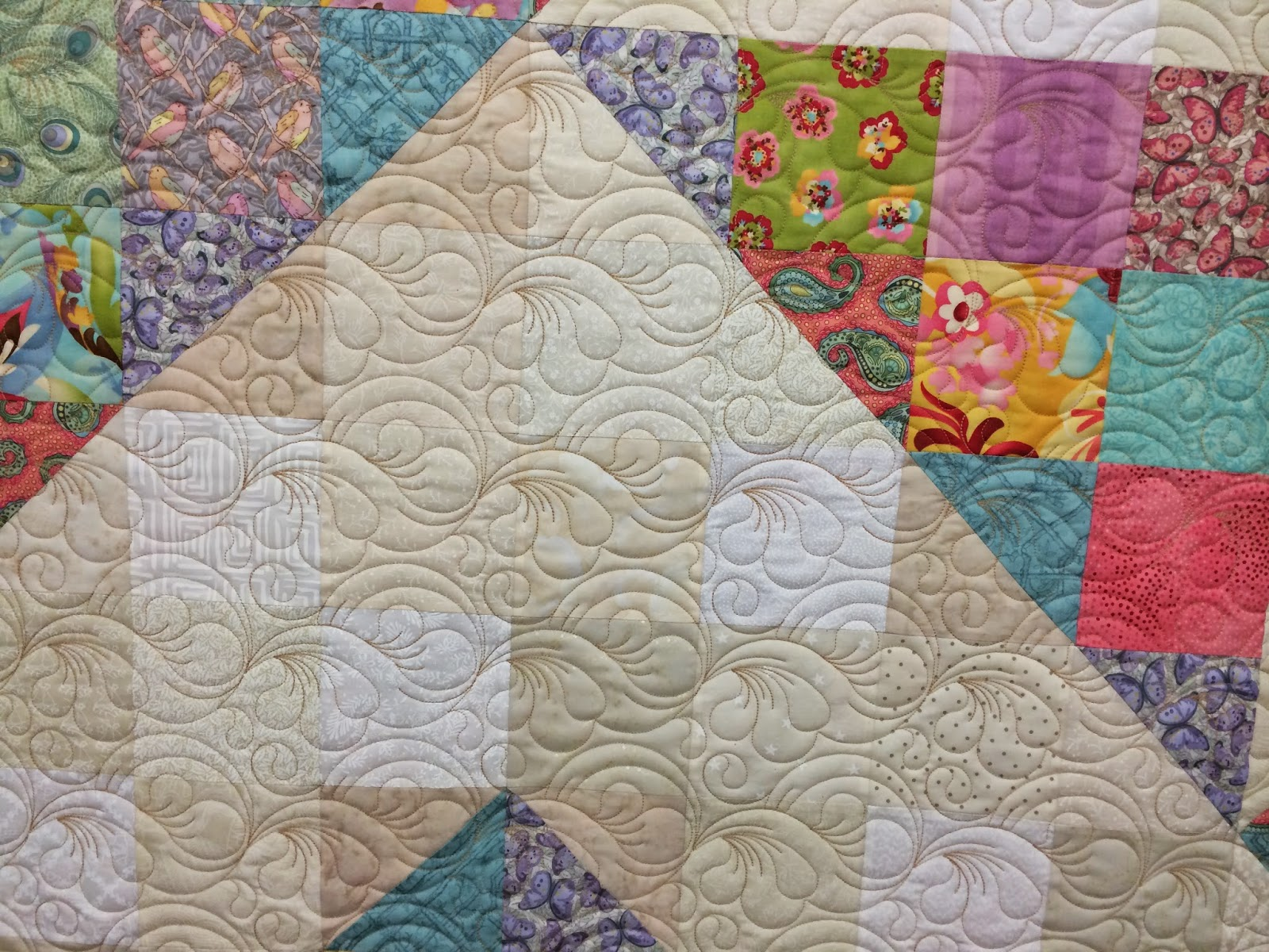 Lynne Capps Triangle Quilt