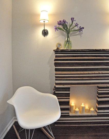 Nook of Wellington: Faux Fireplaces!