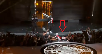 Pdiddy Falls In Hole During 2015 BET Awards Performance - Watch Now