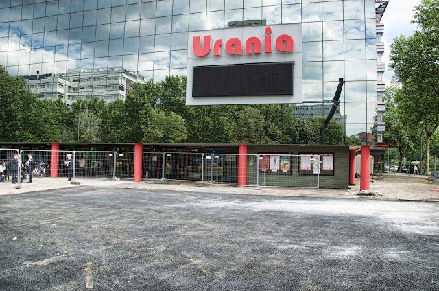 Baustelle Umgestaltung des Urania Vorplatzes, 04.06.2014, 10789 Berlin, 04.06.2014