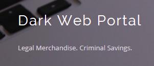 Dark Web Portal