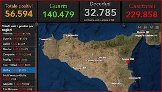COVID-19 Italia - Monitoraggio 24 Maggio