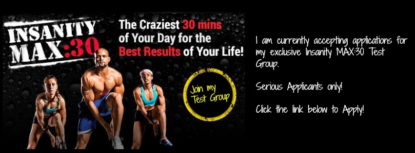 Insanity Max:30, Insanity, Shaun T, Max out, Test group, beachbody