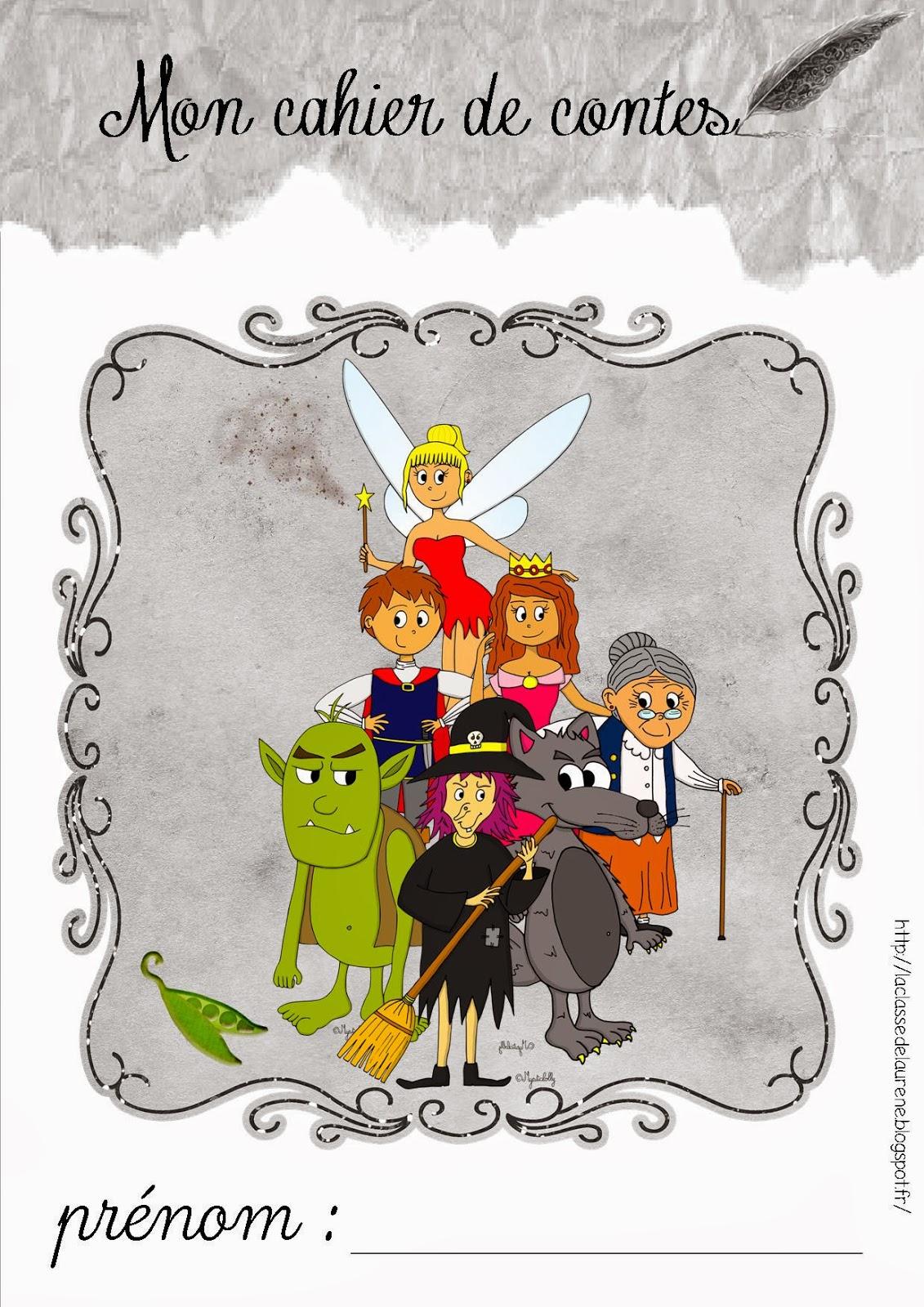 la maternelle de laurène le cahier de contes les fiches contes