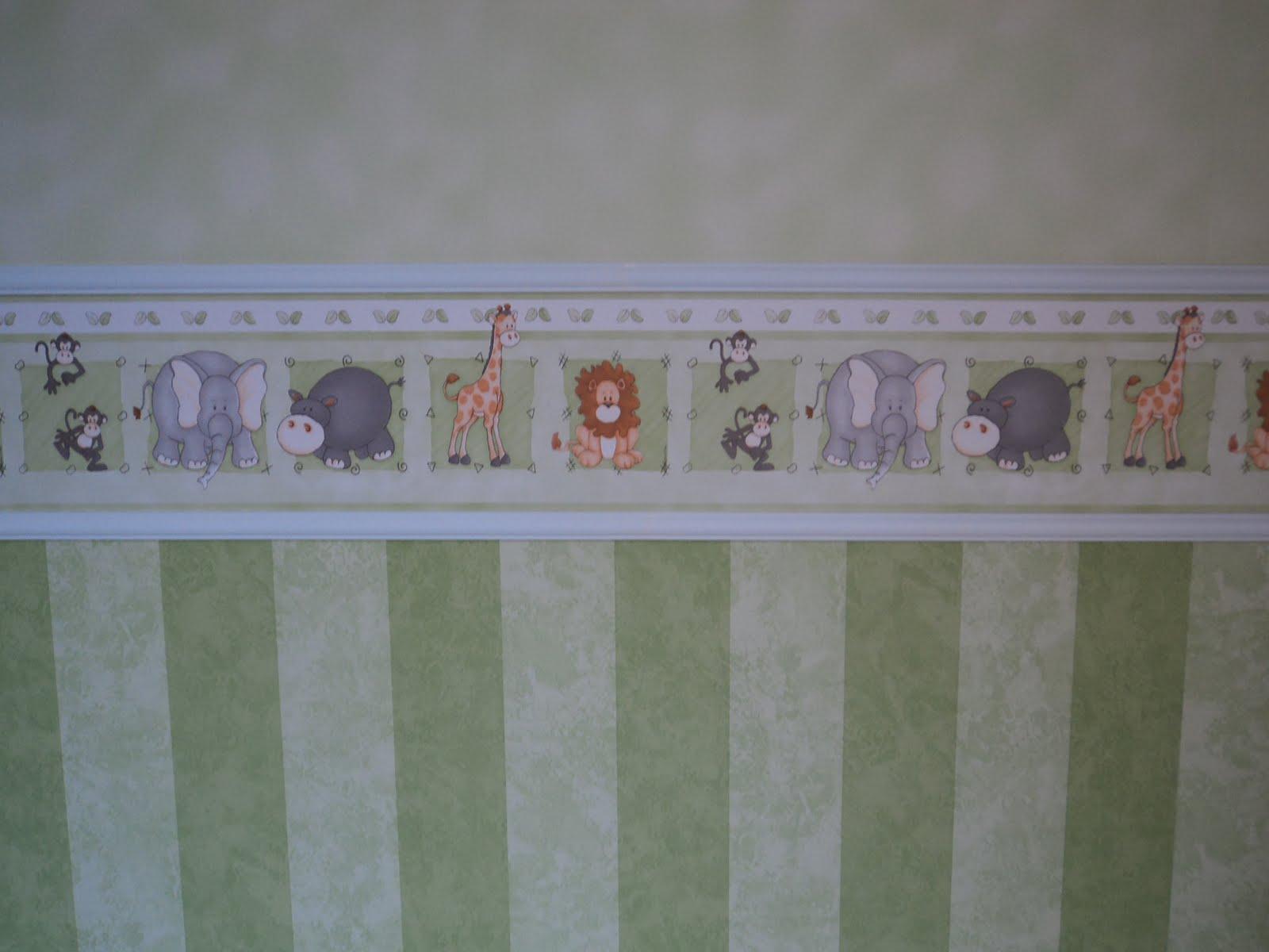 20170217041353 papel de parede quarto de bebe faixa - Papel pared bebe ...