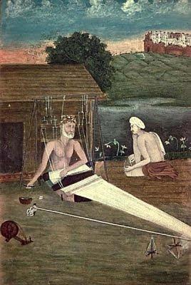 Kabir amb un deixeble (Autor desconegut)
