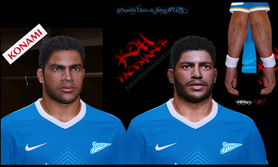 PES 2014 Face HULK v.11b Curly Hair & Beard by KOH