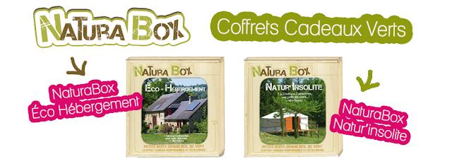 2 NaturaBox à gagner: la Box Eco-séjours