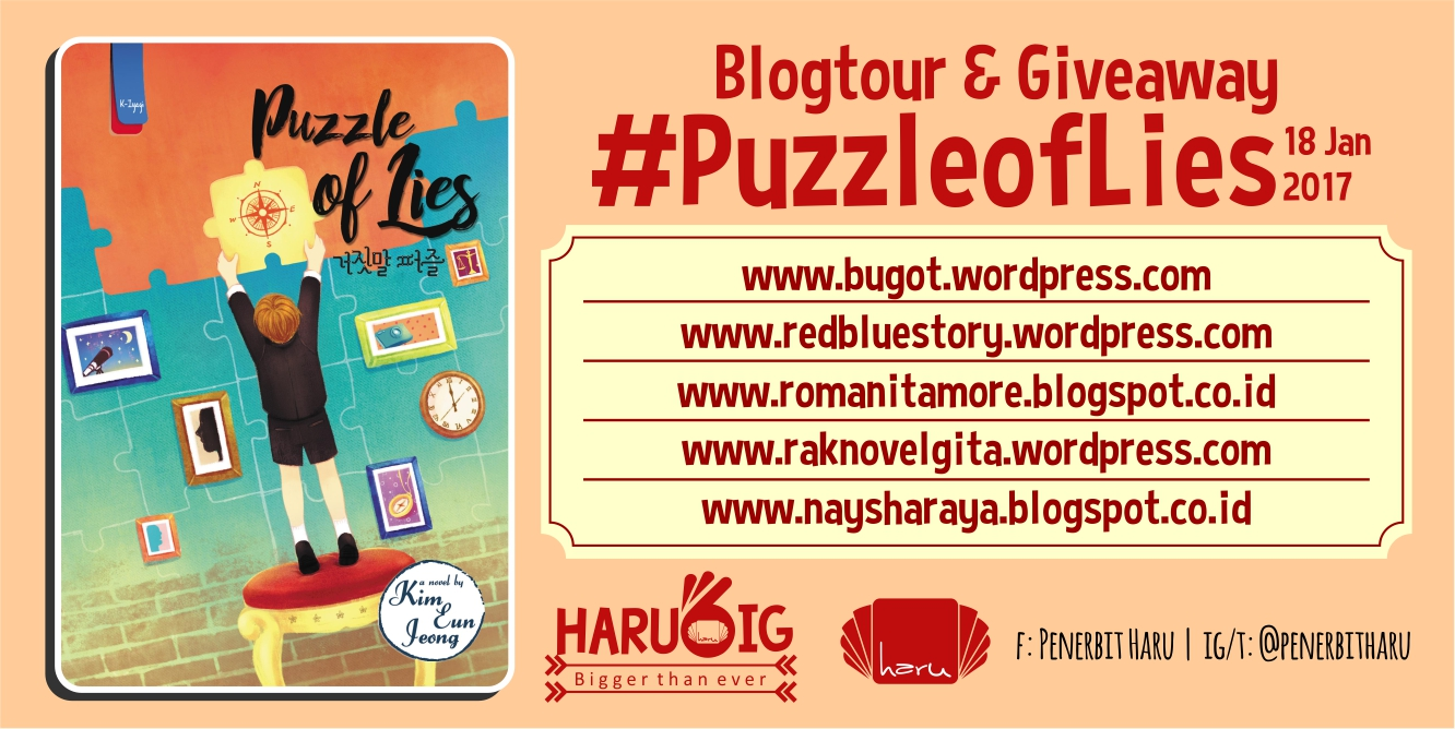 Blogtour & Giveaway Puzzle of Lies