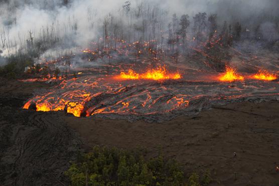 Hawaii Volcano Eruption 2012
