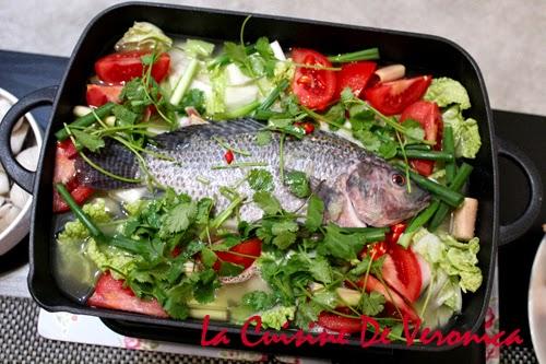 La Cuisine De Veronica 泰式香辣蕃茄魚煲