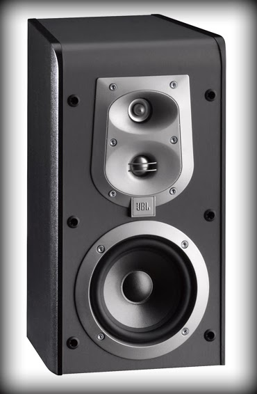 Image of a home JBL three way speaker