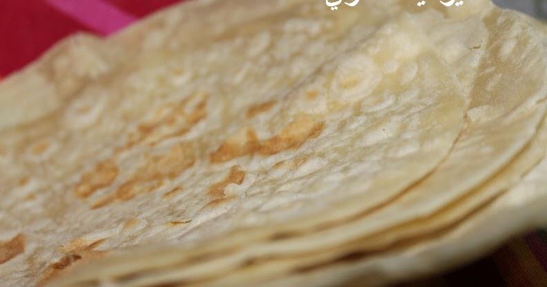 بالفيديو طريقة عمل خبز التوريتلا السهل والسريع