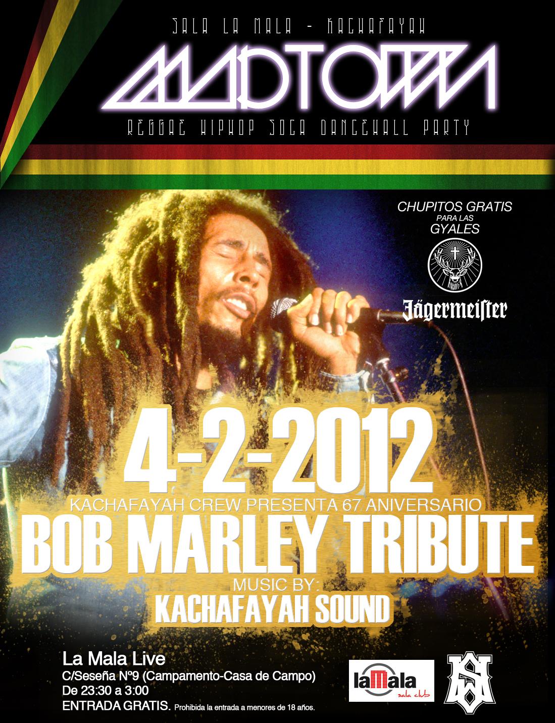 4-2-2012 BOB MARLEY TRIBUTE@SALA LA MALA Febrero_bob_marley_tribut+copia