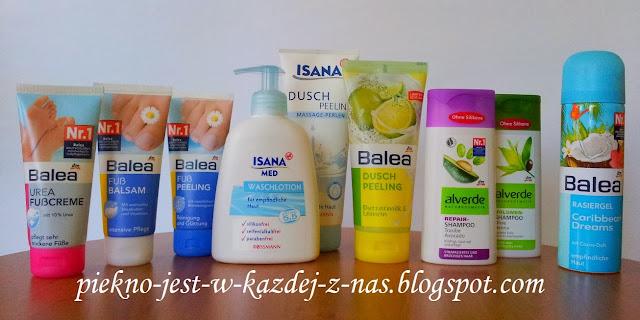 Kosmetyki z Niemiec - Balea, ISANA, Alverde, P2