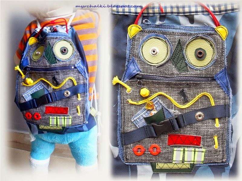 рюкзак для мальчика своими руками