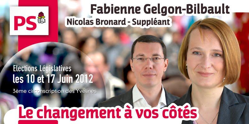 Fabienne Gelgon-Bilbault - Législatives 2012