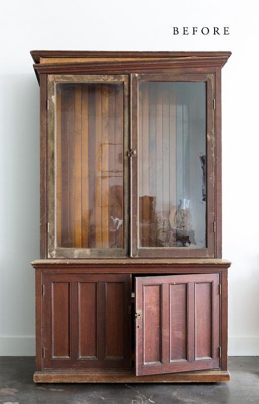 restauración vitrina